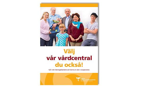 Affisch Vårdvalet Primärvården
