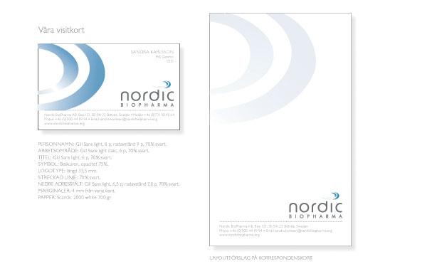 Grafisk profil Nordic Biopharma