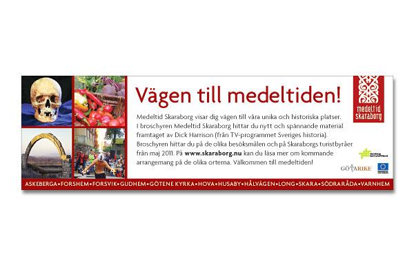 Annons Medeltid Skaraborg