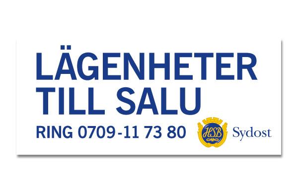 Banderoll HSB Sydost