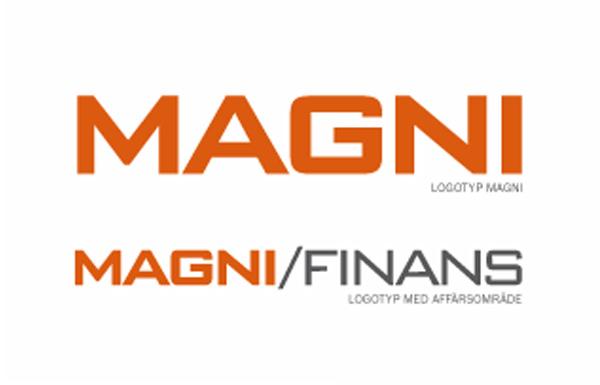 Grafisk profil Magni Finans